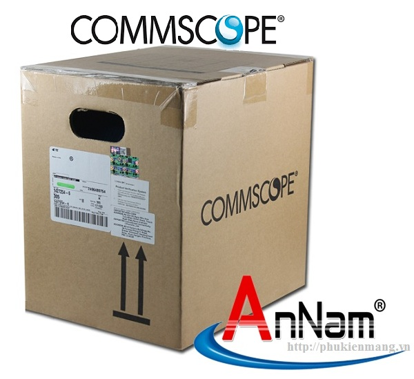 Cáp mạng Commscope Cat6 mã 1427254-6 UTP AMP Category 6