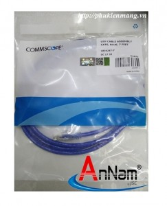Dây nhảy Patch cord 2.1m(7ft) Cat5e Commscope/ AMP mã 1859239-7