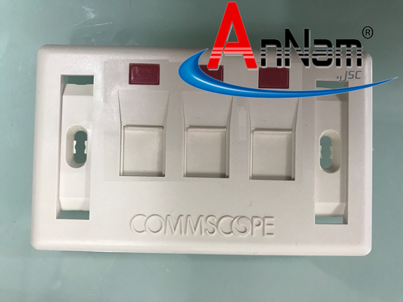 Mặt Wallplate 3 Port AMP