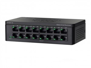 16-port Fast Ethernet Switch Cisco SF90D-16