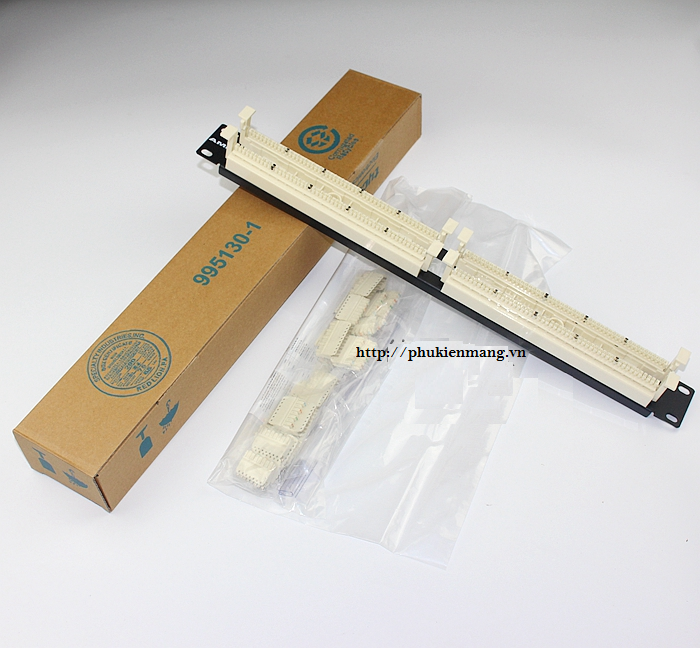 www.123nhanh.com: Patch Panel AMP Voice 100 , 110 style or 25 pair