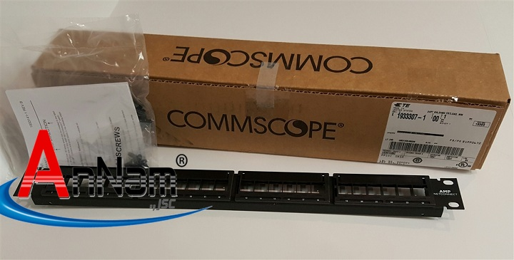Thanh đấu nối Patch Panel Commscope Amp Cat5e cat6 24p 48p
