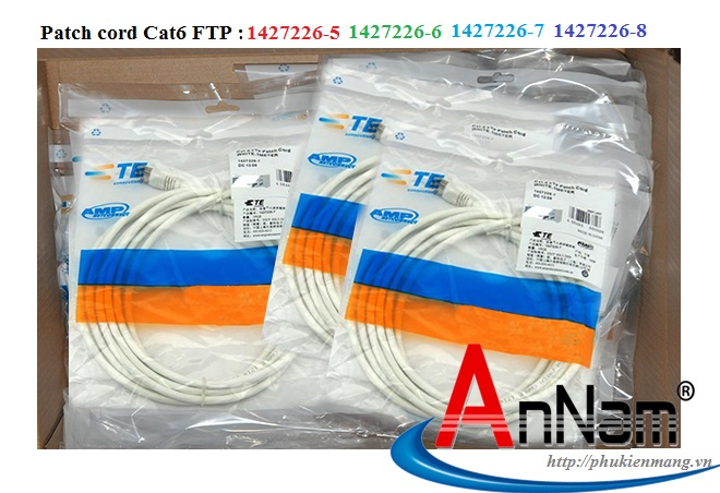 Dây nhảy patch cord Cat6A-Cat7 Commscope AMP 1m-2m-3m-5m-10m
